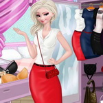 Elsa Job Dress Up
