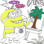 Minions Coloring Book II